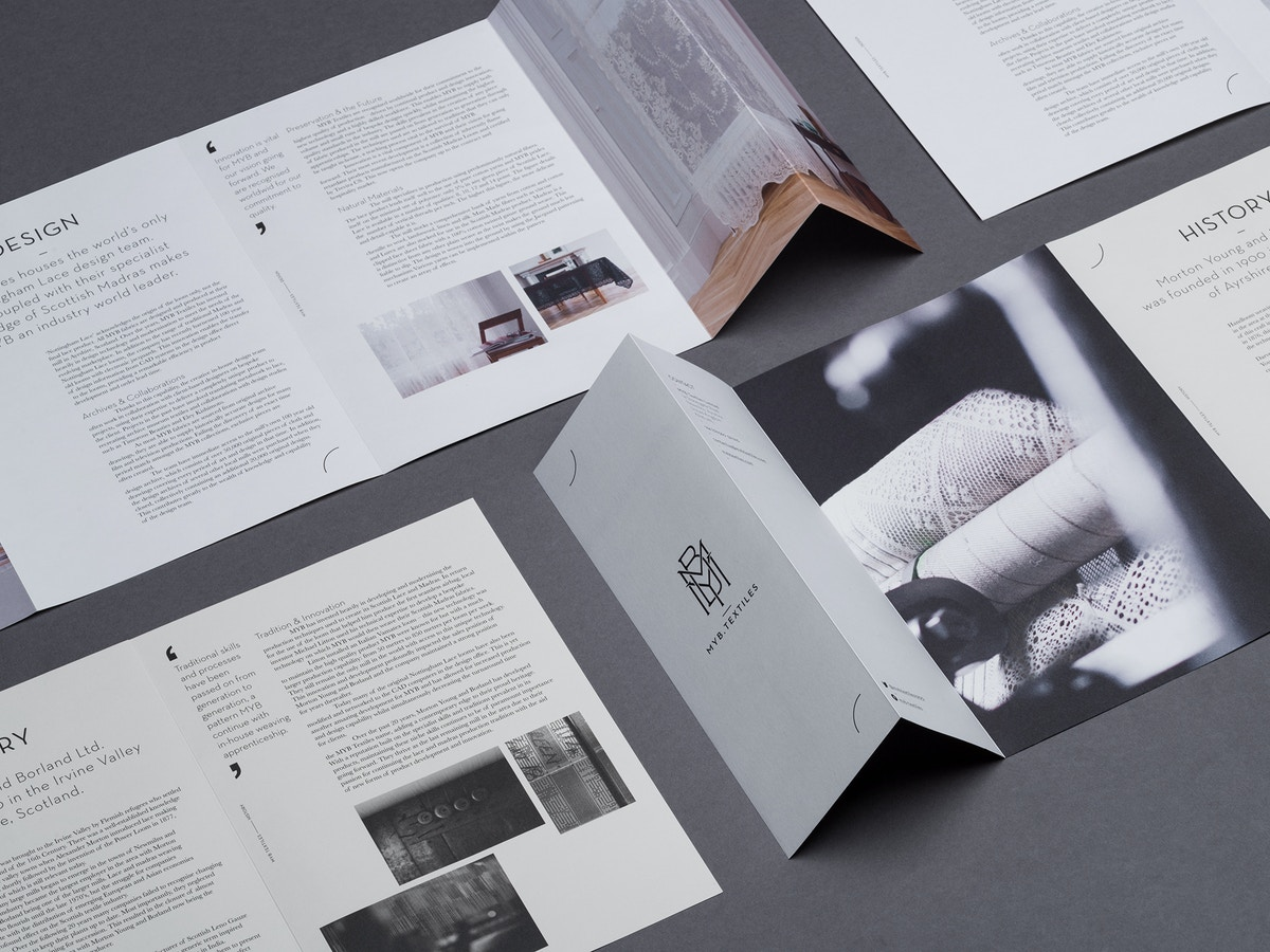An arrangement of different MYB printed brochures.